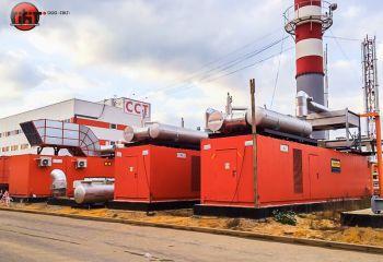 Энергоцентр с когенерационными установками и котельными